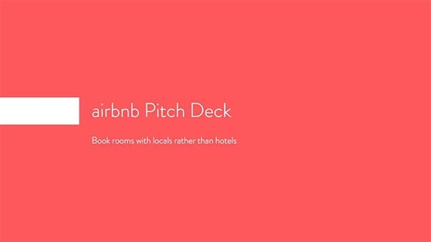 The Ultimate Pitch Deck Guide To Raise Capital For Your Business - Airbnb pitch deck template